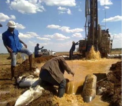 Groundwater monitoring chisamba